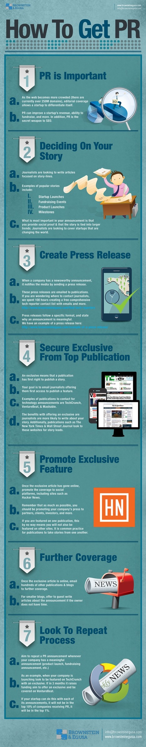 Infographic: How to Get PR - Marketing Technology Blog | #TheMarketingAutomationAlert | all | Scoop.it