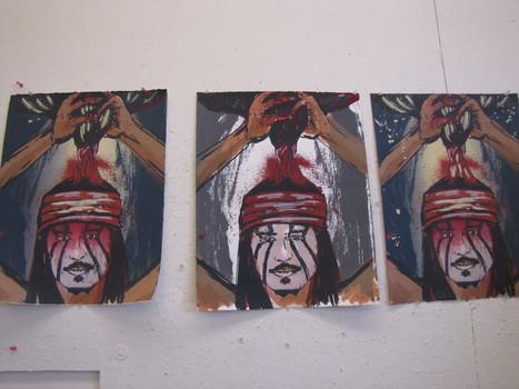 Printmaking project pairs Native artists, ASU graduate students - KJZZ | Printmaking | Scoop.it