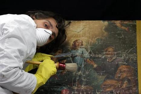 Art conservation refers to the process of maintaining works of art against future damage | News in Conservation | Scoop.it
