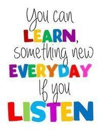 You can Learn something new everday if you listen | Instructional Design | Scoop.it