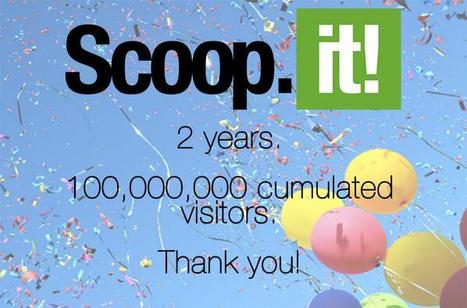 Two years sharing ideas that matter to 100 million people | Todo List | Scoop.it