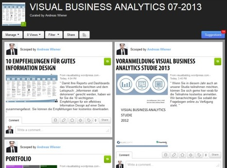 VISUAL BUSINESS ANALYTICS NEWSLETTER 07-2013   VISUAL BUSINESS ANALYTICS 08-2013   Scoop.it