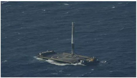 SpaceX Just Landed a Rocket on a Drone Ship | e.cloud | Scoop.it
