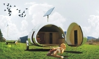 The ultimate eco friendly festival caravan | Decoration & home staging | Scoop.it