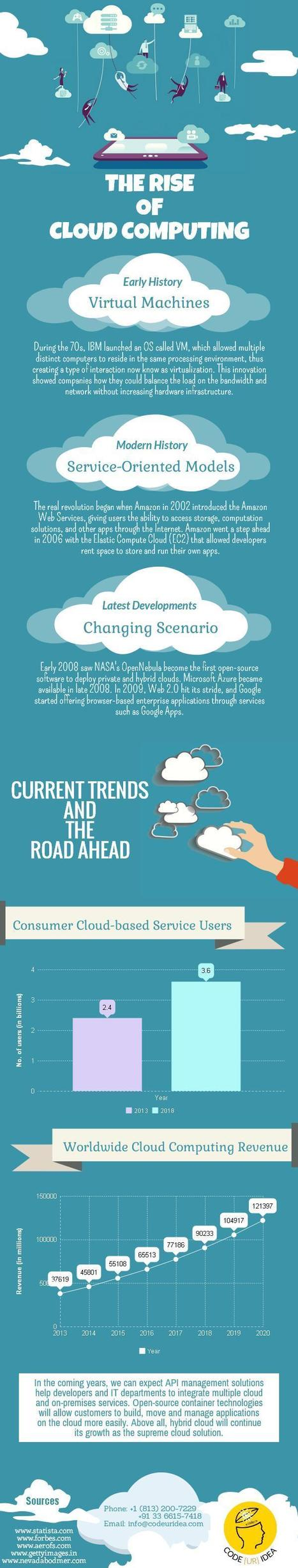 The Rise of Cloud Computing- An Infographic | Art, Entertainment & Internet Marketing | Scoop.it
