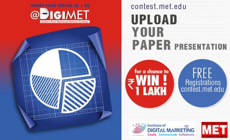 DigiMET - Paper Presentation Details   Article Contest   Scoop.it