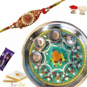 Buy Rakhi Thali Online with Best Price in India | Buy-Rakhi-2016, Send Rakhi To India, Buy Rakhi | Scoop.it