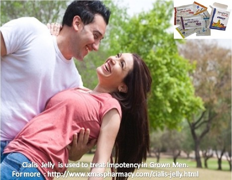 Cialis Jelly- a Need during Erectile Dysfunction. | Health | Scoop.it