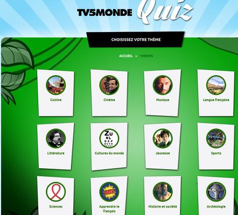 TV5MONDE Quiz | Remue-méninges FLE | Scoop.it