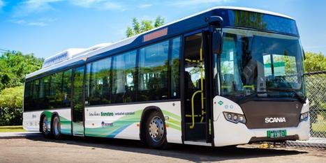 Brésil - Scania souligne les avantages de ses bus au biométhane   Biogaz Europe les 19 et 20 mars 2015 à Nantes   Scoop.it