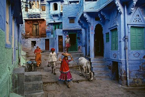 Blue City | Photographer: Steve McCurry | PHOTOGRAPHERS | Scoop.it