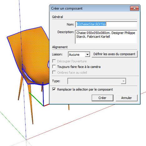 Composants SketchUp - Modélisez mieux avec SketchUp | SketchUp | Scoop.it
