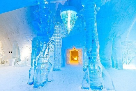 Canada's Magical Ice Hotel Inspired by Jules Verne - My Modern Metropolis | Gaia Diary | Scoop.it