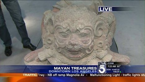 Mayan Treasures- Unveiled for The First Time - KTLA | Ancient Cultures | Scoop.it