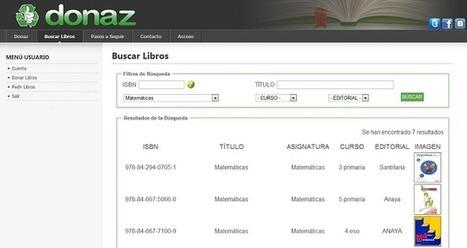 Donaz, un proyecto para intercambiar libros de texto usados | Redes Sociales ES | Scoop.it