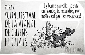 21.6.16 YULIN, FESTIVAL DE LA VIANDE DE CHIENS ET CHATS | Modern dog training methods and dog behavior | Scoop.it