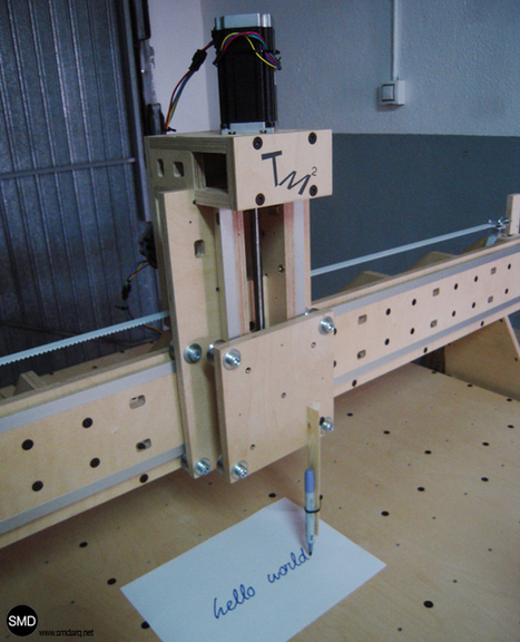TM2: Transportable CNC Milling Machine – SMD Arquitectes | Big and Open Data, FabLab, Internet of things | Scoop.it