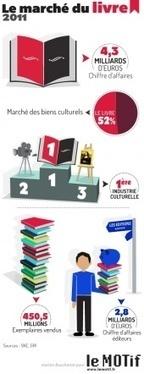 Marché français du livre - Chiffres clés du livre - Etudes et données - Le Motif | Le livre numérique est-il l'avenir du livre ? | Scoop.it