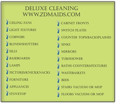 Deluxe Cleaning Service at Zena's Detailed Maids   House Cleaning   Scoop.it
