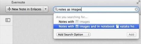 Evernote mejora las búsquedas con el uso de lenguaje natural en su versión para OS X | EvernoteTips | Scoop.it