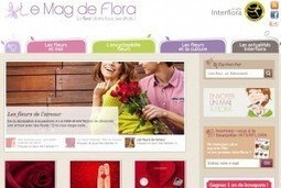 Le Mag de Flora, un site d'Interflora | fleurs | Scoop.it