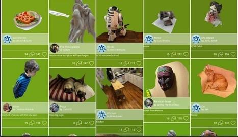 123D Cath, crea modelos 3D tomando fotos desde el móvil | Herramientas y Recursos Web 2.0 | Scoop.it