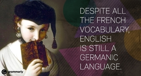 Why English Is a Germanic Language | Angelika's German Magazine | Scoop.it