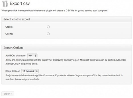 WooCommerce Order/Customer CSV Export Extension | Download Free Full Scripts | Woocommerce | Scoop.it