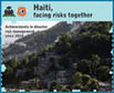 Haiti, facing risks together: achievements in disaster risk management since 2010 | Agua | Scoop.it
