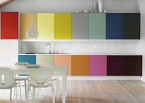 Colored Kitchen Cabinets Trend Building up Kitchen Atmosphere   Home Decorating Ideas   Scoop.it