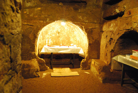 A quick look at: theearlyChristian catacombs of Rome | Early Christianity | Scoop.it