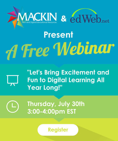 Webinar: Let's Bring Excitement and Fun to Digital Learning All Year Long! | Information Powerhouses | Scoop.it