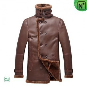 Shearling Coats for Men CW878236 | Leaher Prodcuts | Scoop.it
