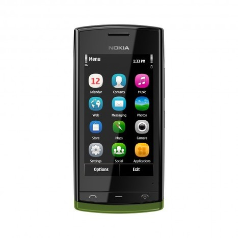 Nokia lance Nokia500, un smartphone d'entrée de gamme | A l'ère du webmarketing. | Scoop.it