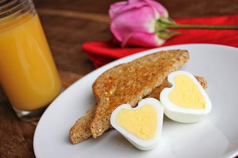 Cómo hacer un huevo duro con forma de corazón | recetitas | Scoop.it