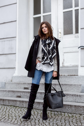 Layering Outfit Inspirations By Valerie Husemann - Ferbena.com | Celebrities | Scoop.it