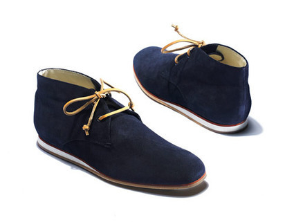 Tod's No Code Boots: wear with a pair of slim navy chinos and a button-down collar Oxford shirt | Le Marche & Fashion | Scoop.it