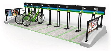Barre de recharge pour vélos en libre-service | véhicules électriques étude de marché | Scoop.it