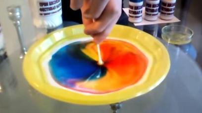 Una manifestación de la acción de los detergentes: coloración mágica de la leche | DETERGENCY | Scoop.it