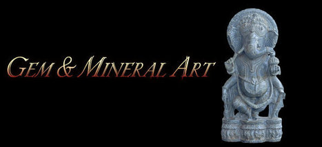 Gem and mineral art - Crystal figures, sacred temple Siva lingams | Useful Information | Scoop.it