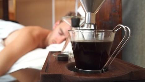 Pour commencer la journée en douceur... Votre réveil vous sert un café ! | Culture Web | Scoop.it