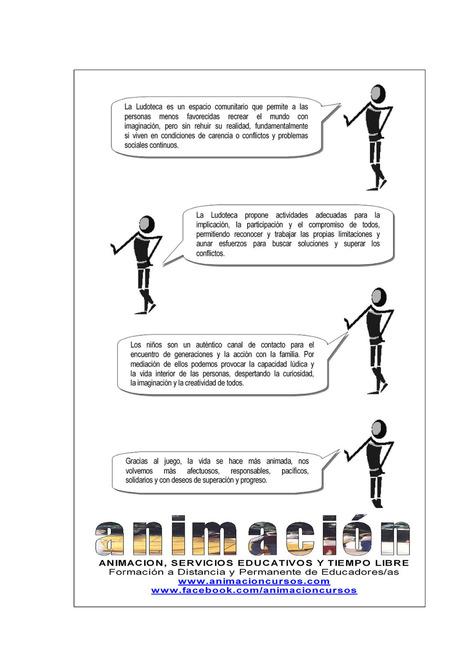 Educacion Social, Areas de la Ludoteca Para el adecuado... | Cursos Ludotecas | Scoop.it
