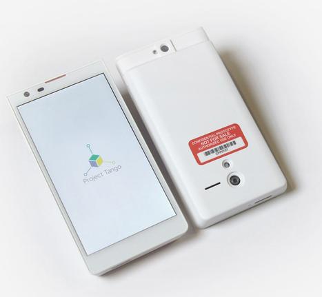 google introduces project tango, a smartphone that creates 3D environments - designboom | Robohub | Scoop.it
