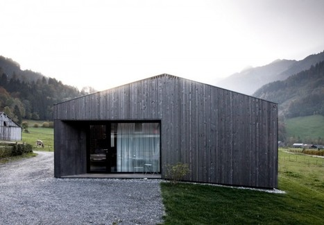 Prefab Connected to the Land: House for Gudrun, Austria | PROYECTO ESPACIOS | Scoop.it