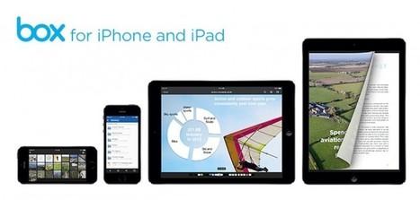 50GB de almacenamiento extra en Box para iOS | Las TIC en el aula de ELE | Scoop.it