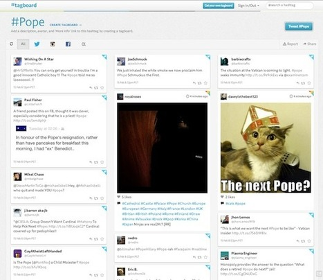 Tagboard: Harnessing the Power of the Hashtag | Media Studies and Praxis | Scoop.it