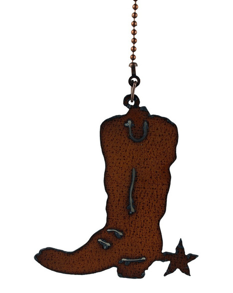 Rusted Metal Rodeo Boot Fan Pull | Rusted Metal Rodeo Boot Fan Pull | Scoop.it