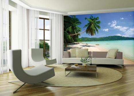 10 Divine Tropical Wall Murals To Enter Summer In The Home | Interior Wallpaper | Scoop.it