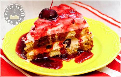 Pratik Kirazlı Pasta Tarifi | Pasta Tarifleri | Pasta Tarifleri | Scoop.it