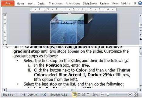 Animated Cube PowerPoint Template   Free Microsoft Word Templates   Scoop.it